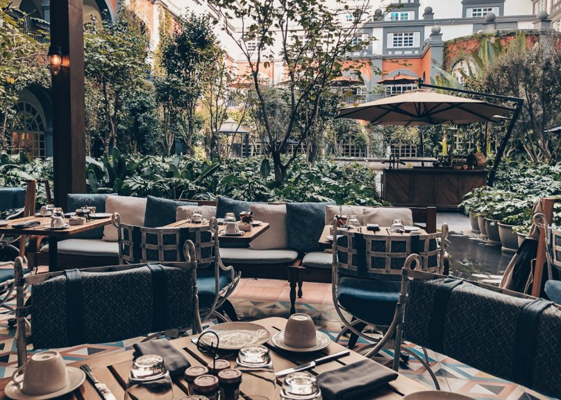 Review Four Seasons Mexico City Zanaya Restaurant