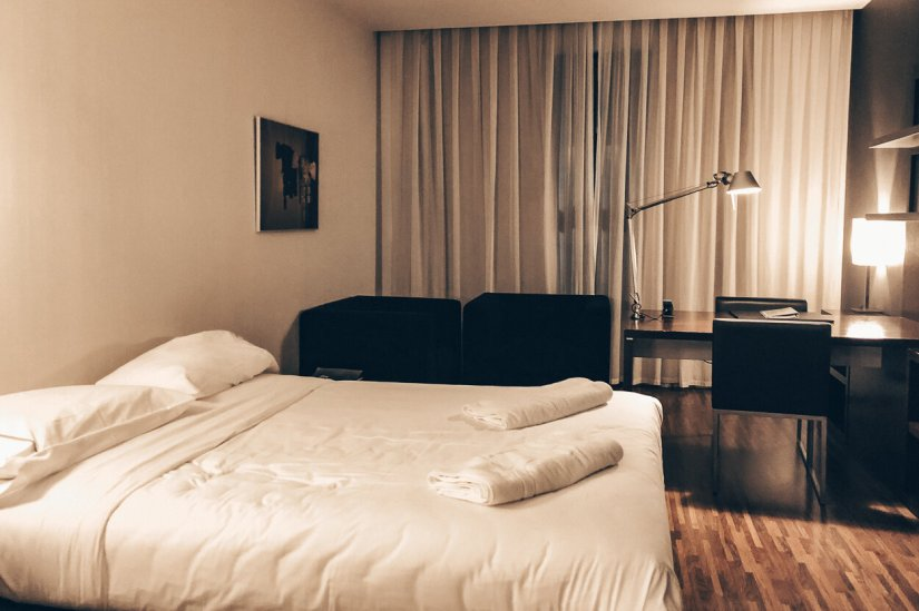 Review AC Hotel by Marriott Madrid Airport Zustellbett