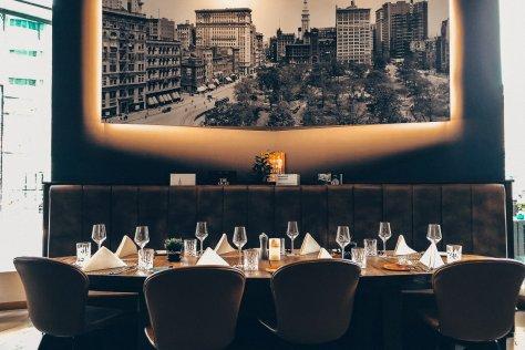 Lindner Hotel Main Plaza Frankfurt Dinner New Brick