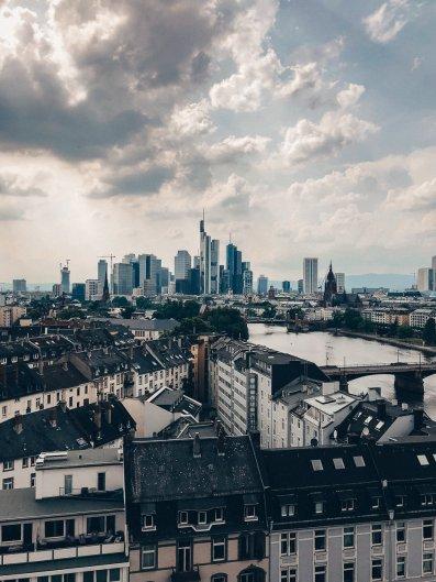 Beste Aussicht auf die Frankfurter Skyline