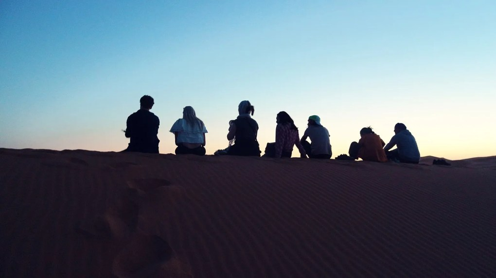 What do you get on a guided desert trip in Morocco?