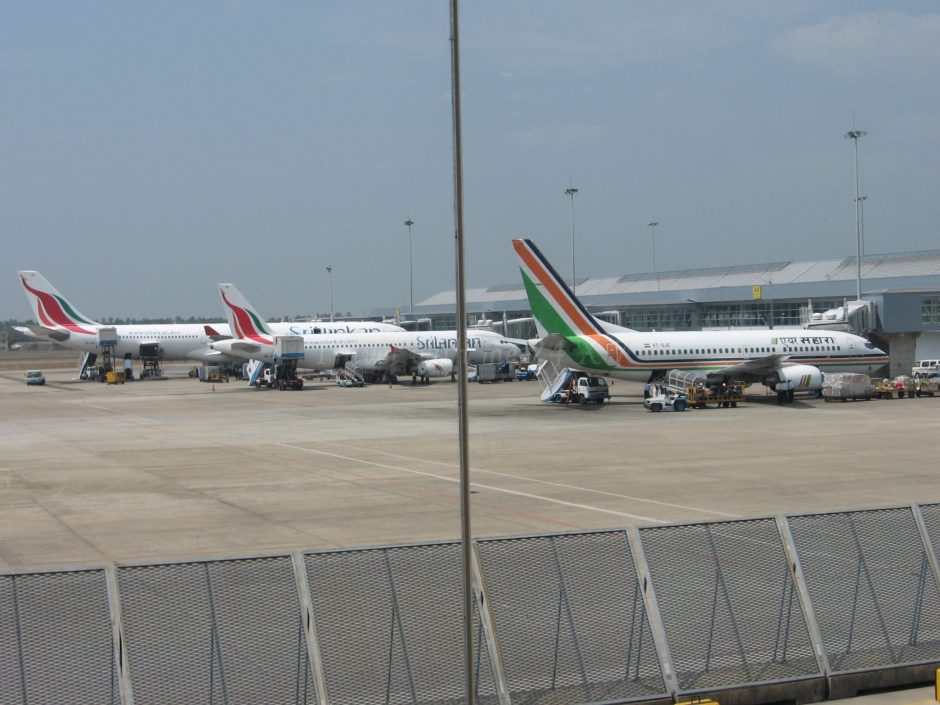 International airport of Colombo