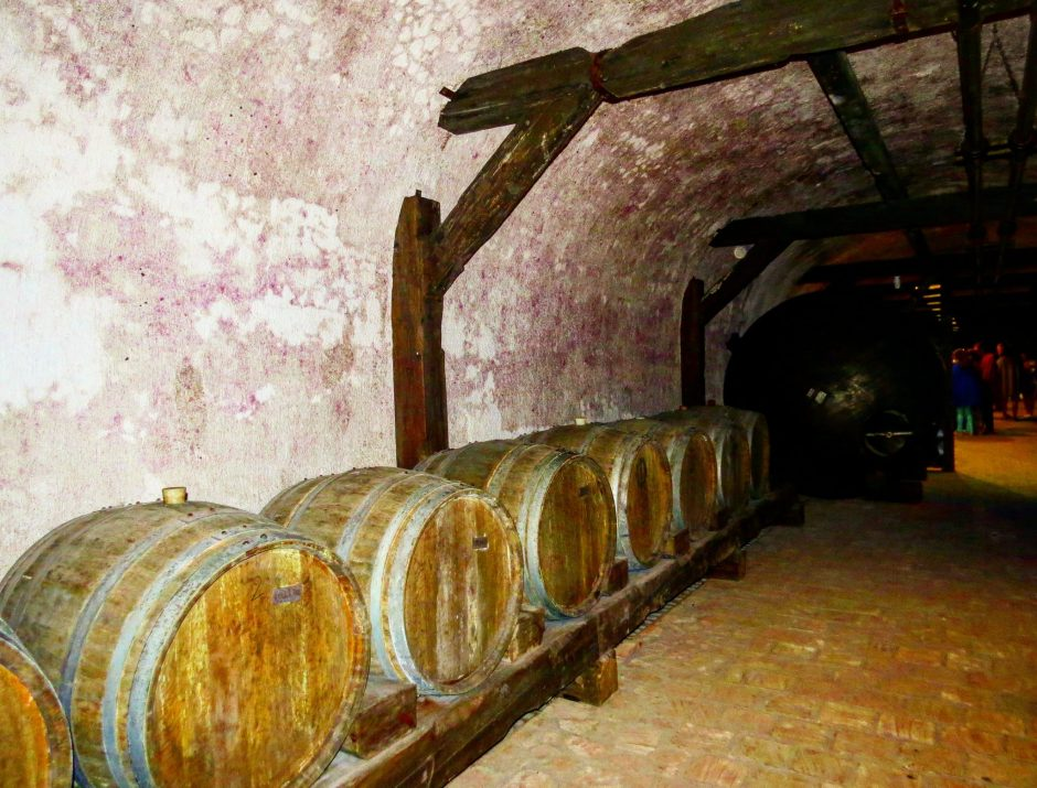 Tunnels of Khareba Winery