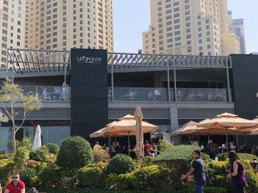 Fine Dining at The Beach- Dubai