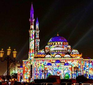 Sharjah Light festival Highlights