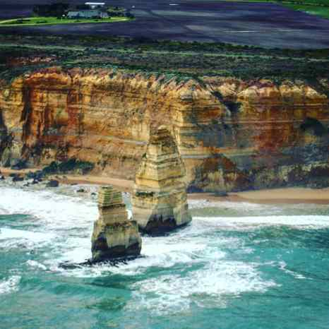 Scenic Drive through Great Ocean Road