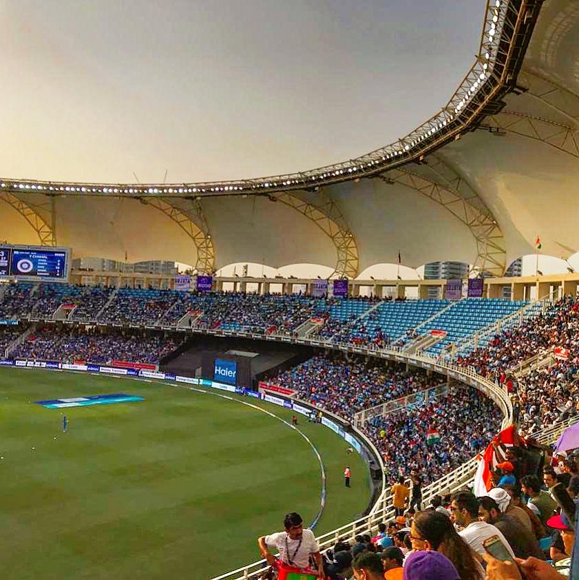 Visit To Dubai International Cricket Stadium Indiapak Odi Match