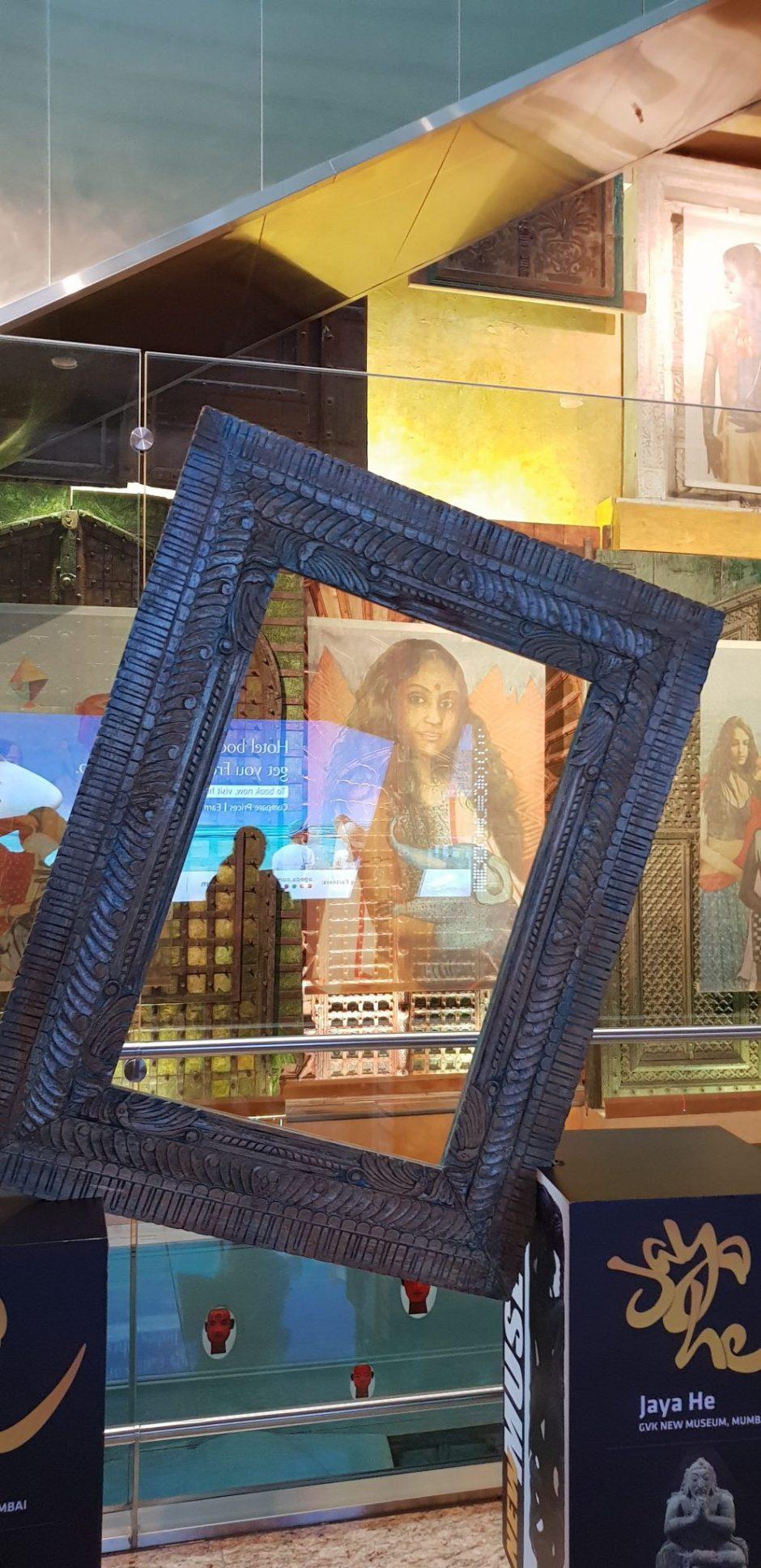 JayaHe GVK New Museum Art Tour at Mumbai Chhatrapati Shivaji International Airport