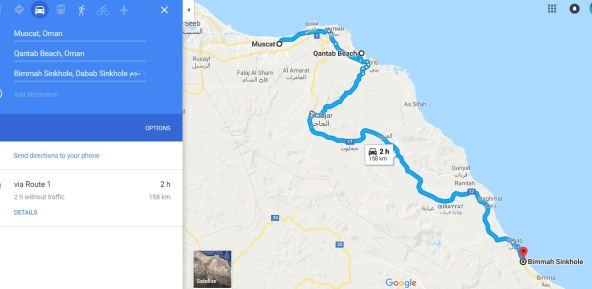 Oman road trip
