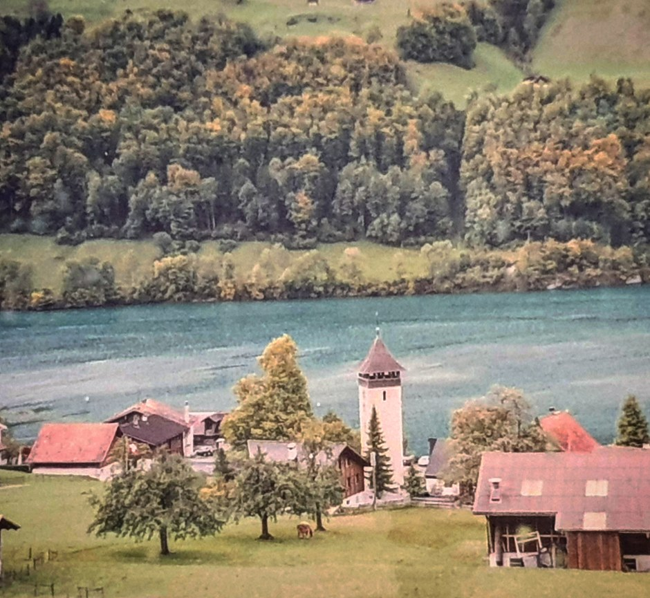 Photo taken from train during Best 5 things to do in Interlaken Tour