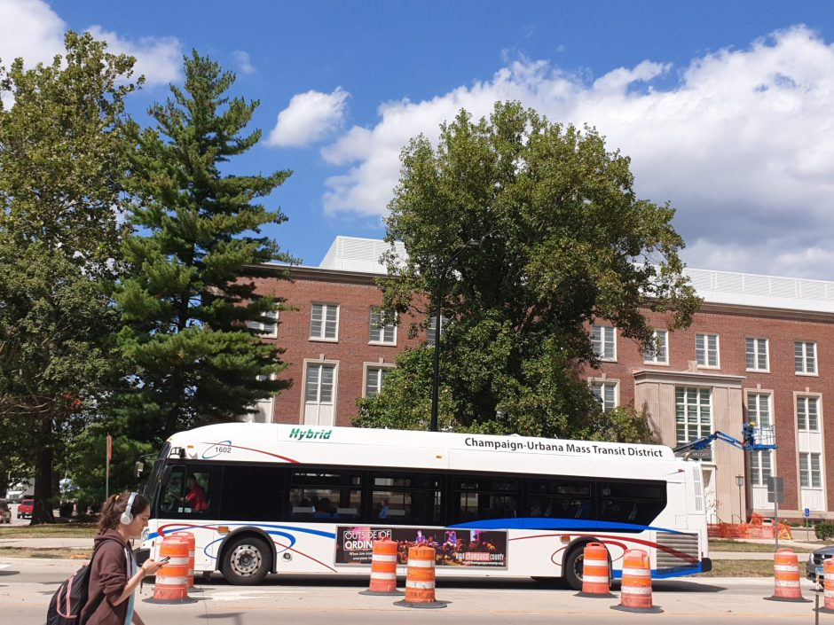 MTD bus in Champaign