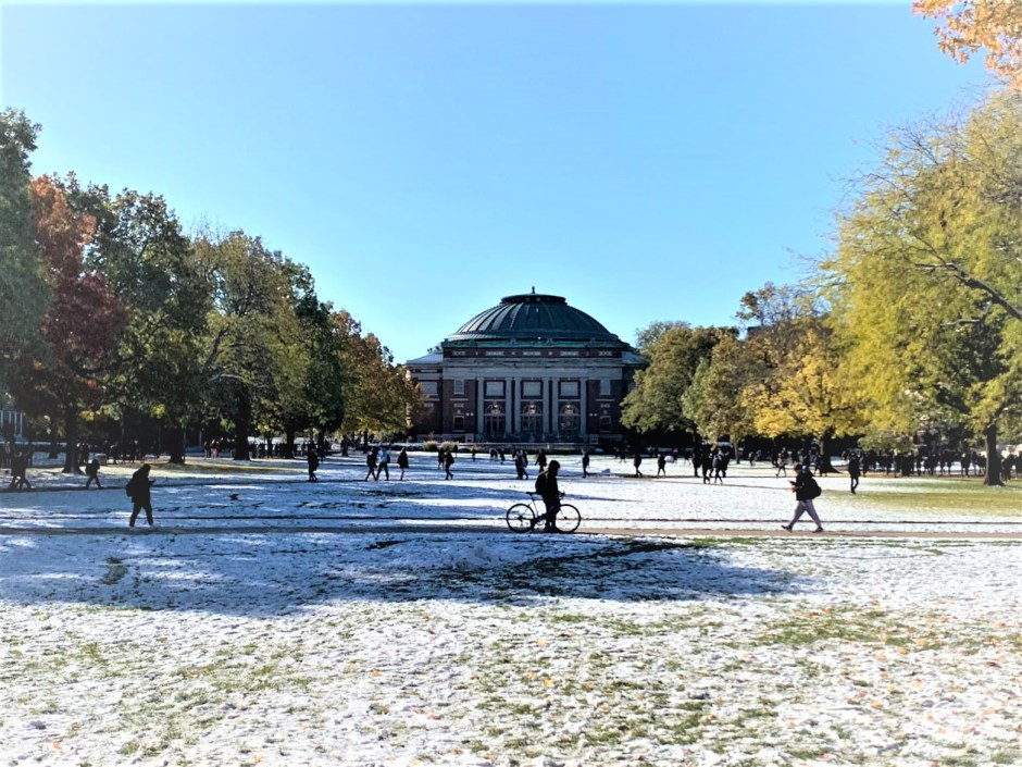 University of Illinois Urbana Champaign Virtual Tour - UIUC Campus Photos - In all 4 seasons