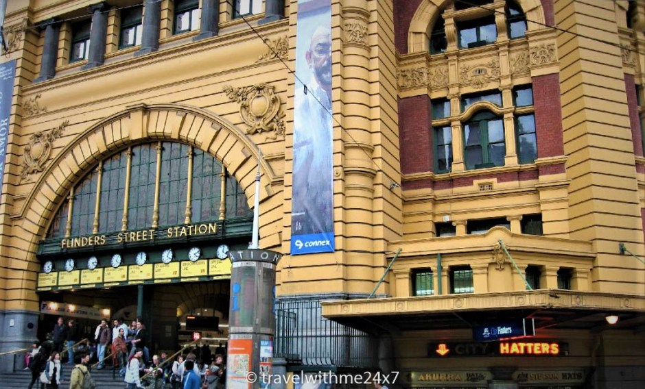 Flinders street stain - 3 Days in Melbourne - Where to Go and What to Visit
