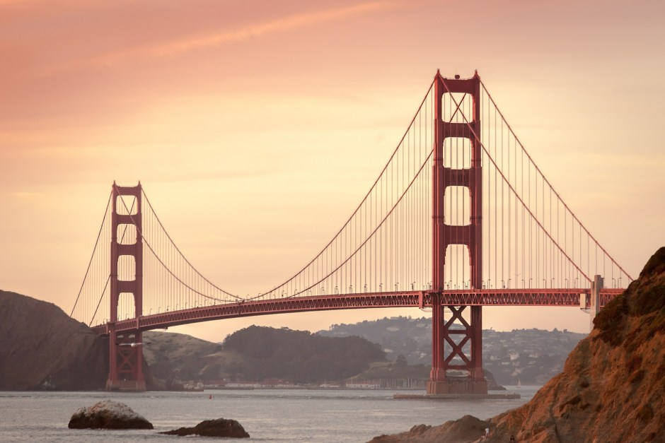 Golden gate bridge virtual tour