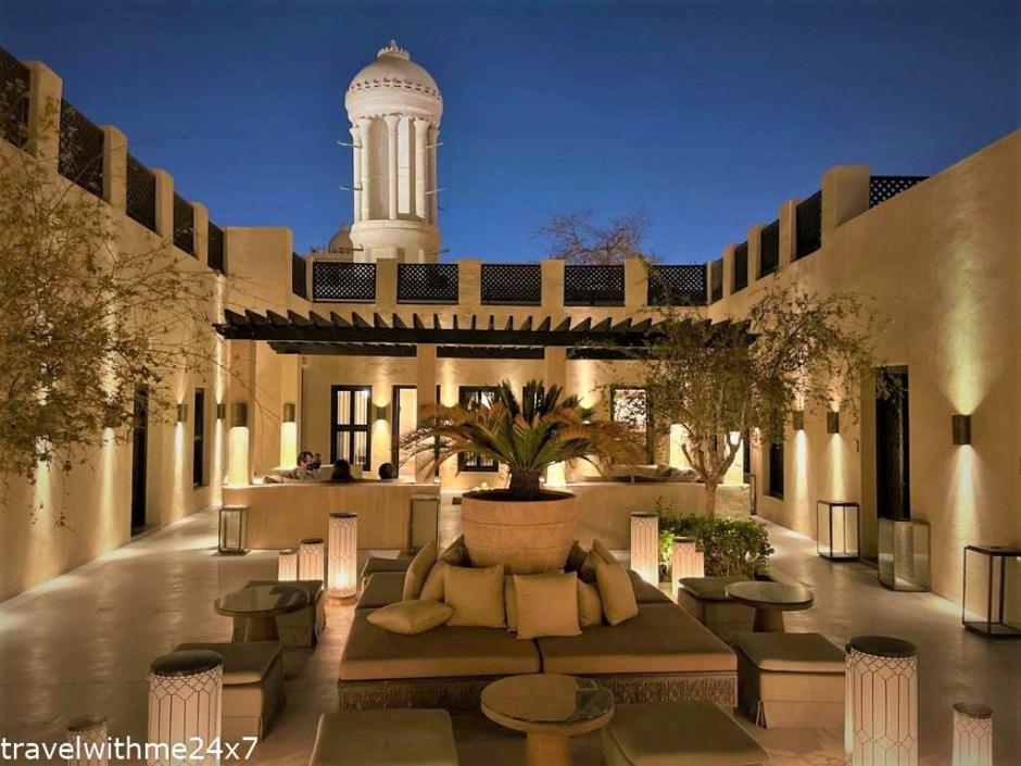 evening at The Chedi Al Bait Sharjah – Luxury Hotel in UAE