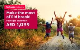 Air arabia travel deals for summer break