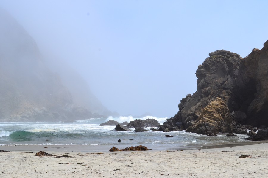 Photo plage Big Sur Californie