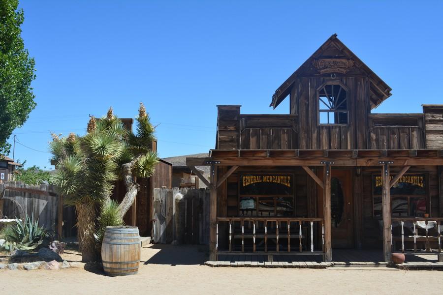 Ville western Pionneer Town Californie