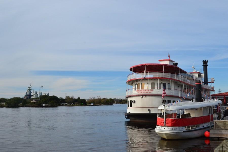Fleuve Wilmington - Voyager en Caroline du Nord