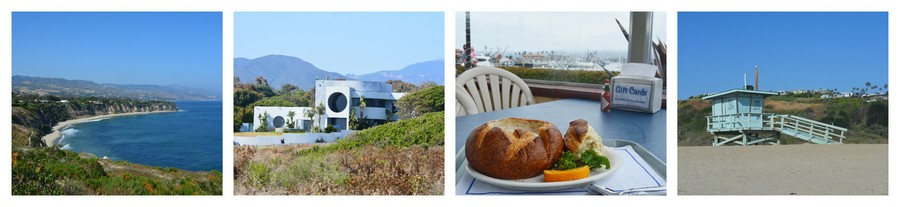 Voyager en Californie, sur la plage à Malibu
