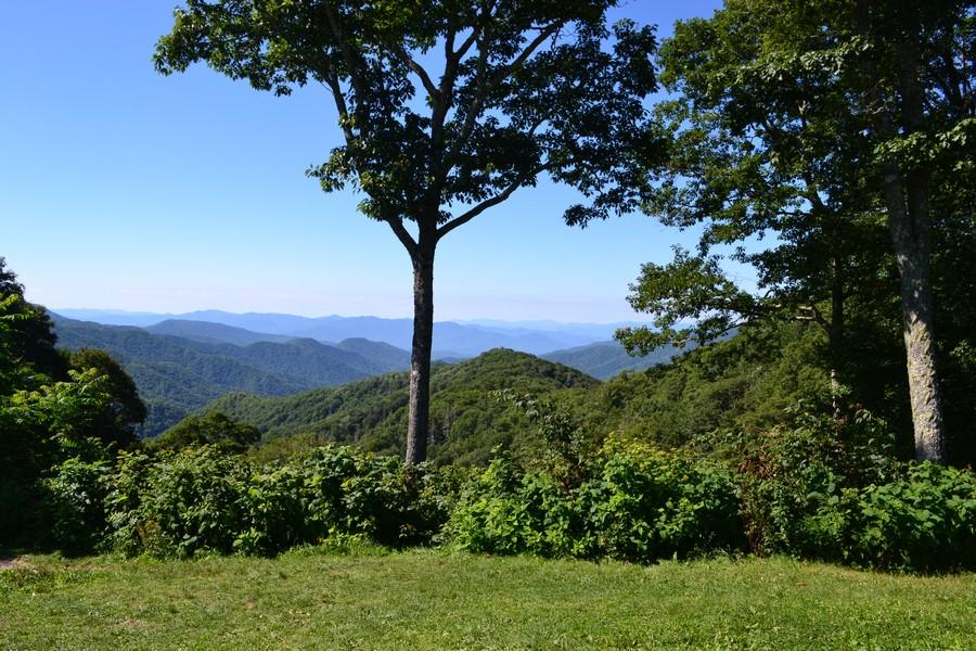 Vue sur les Appalaches au Smoky Mountains National Park