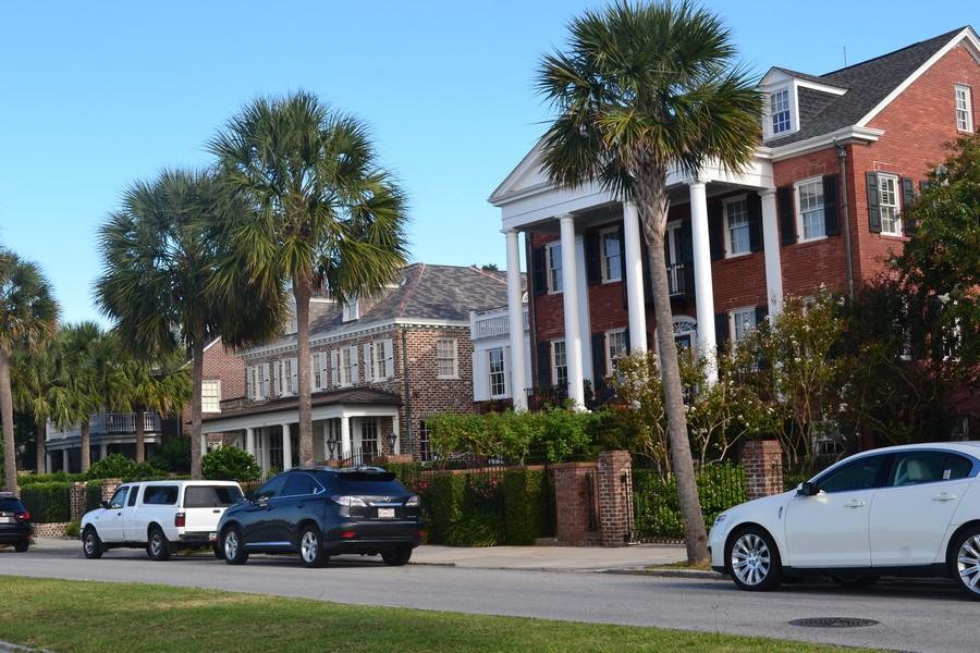 Maisons typique Charleston Caroline du Sud