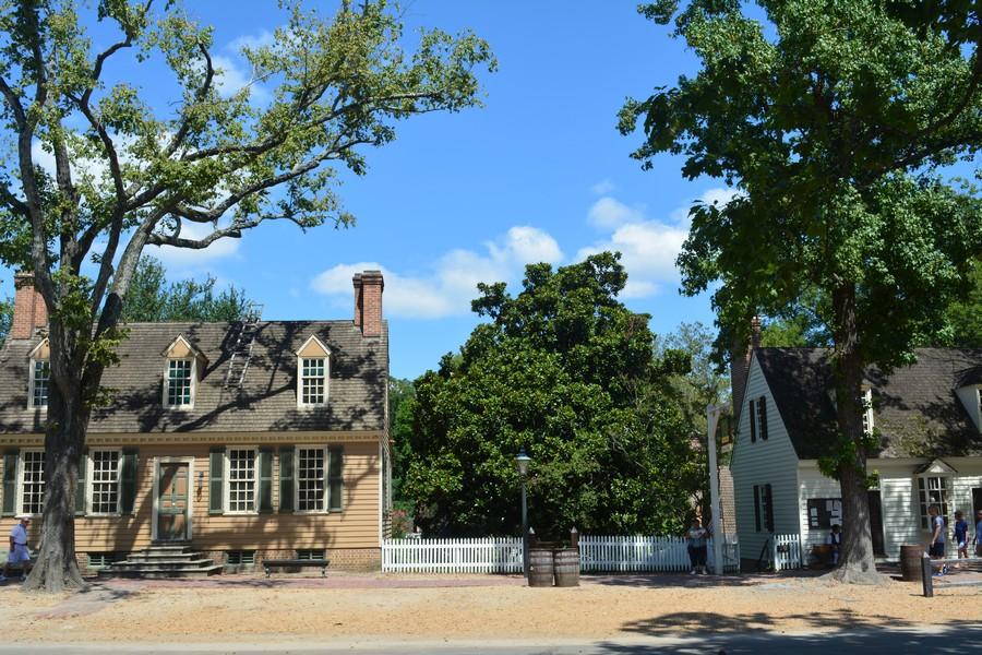 Ville historique Williamsburg Virginie