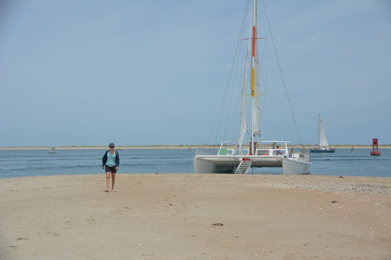 Faire du catamaran an Caroline du Nord