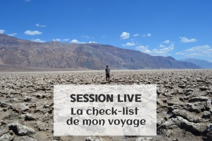 Check list - Coaching Voyage USA : La check-list de mon voyage