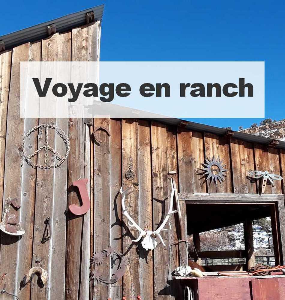Voyage en ranch sans bord - spécialiste des Etats-Unis - Mes services Pro