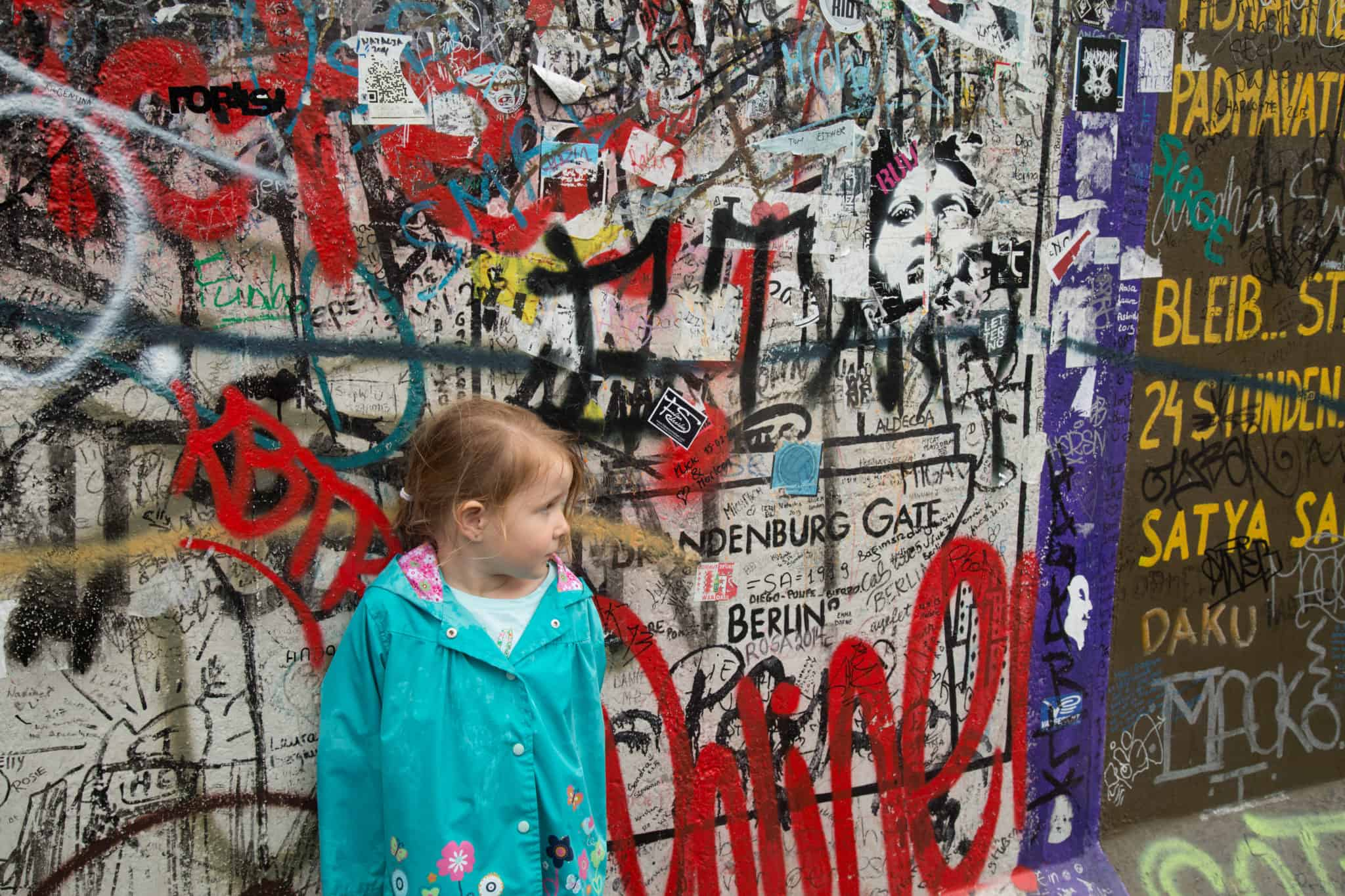 TravelwithMeraki- Travel with kids - Berlin Wall - Berlin - Germany