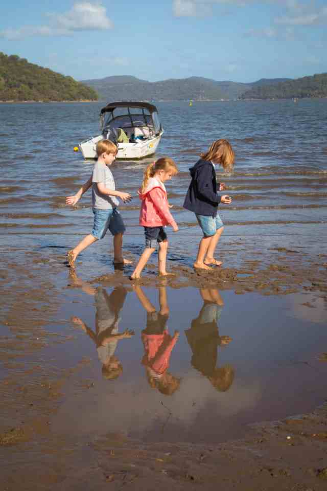 TravelwithMeraki Travel with kids Bradleys Beach Dangar Island NSW Australia