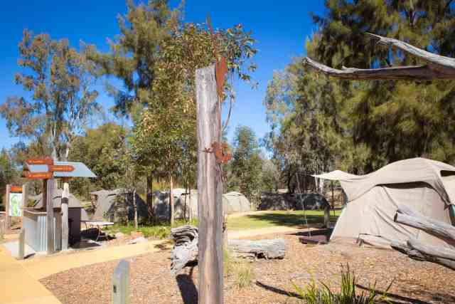 Travel With Meraki- Taronga Western Plains Zoo Dubbo Australia Camp at the zoo Billabong Camp
