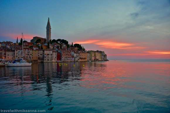 Rovinj sunset