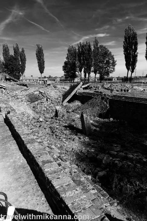 德軍撤退前破壞的焚化爐