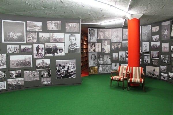 Borgarner博物館裡的冰島百年兒童展
