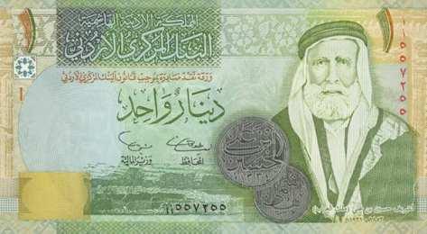 約旦幣一元紙鈔