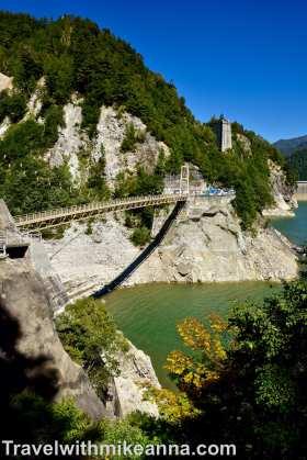 黑部水庫吊橋