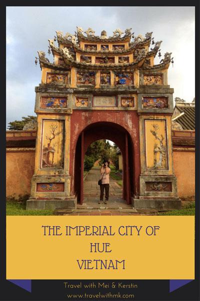 The Imperial City of Hue, Vietnam © TravelwithMK.com
