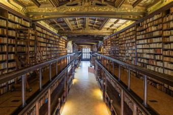 The Bodleian Library in Oxford