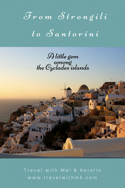 From Strongili to Santorini © Travelwithmk.com