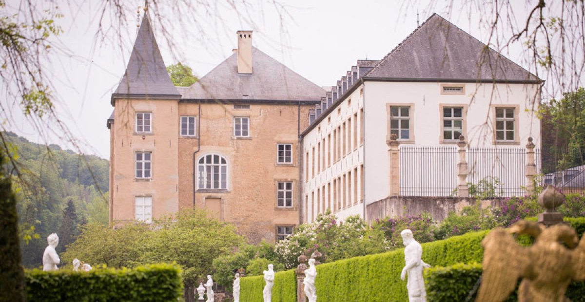 Enchanting Gardens of the Grand Château d'Ansembourg in Luxembourg
