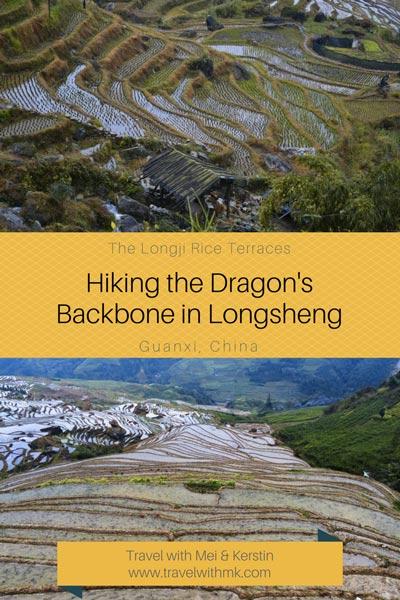 Hiking the Dragon's Backbone in Longsheng, Longji Rice Terraces, Guanxi, China. By Travelwithmk.com