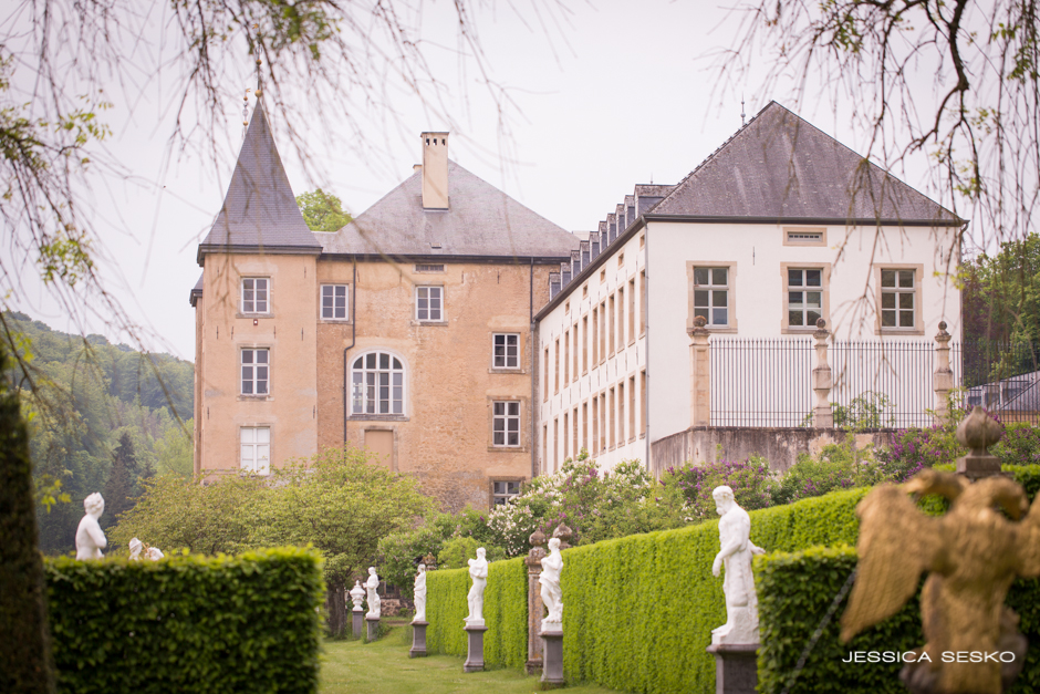Enchanting Gardens of the Grand Château d'Ansembourg