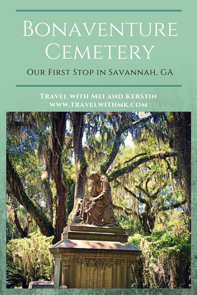 Bonaventure Cemetery: our first stop in Savannah © Travelwithmk.com