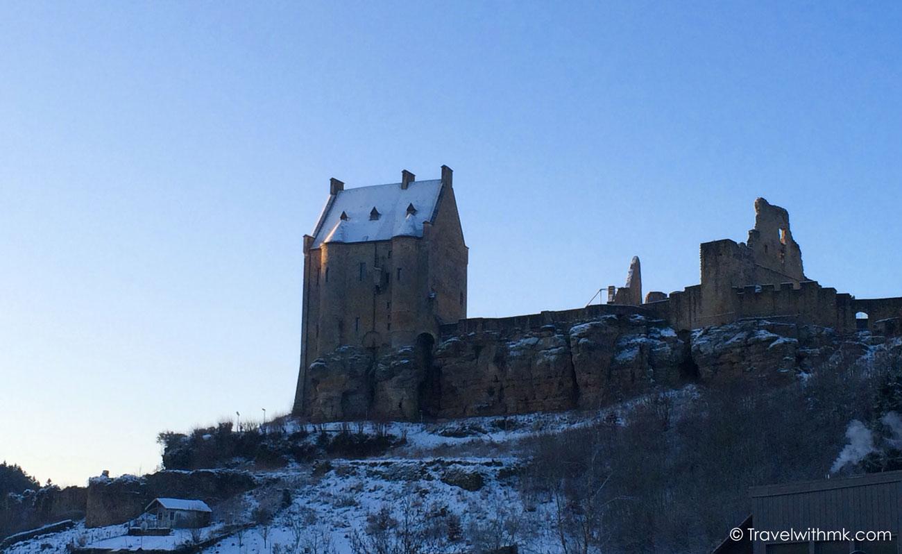 Larochette Castle in Luxembourg © Travelwithmk.com