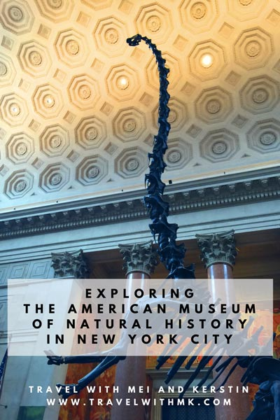 Exploring the American Museum of Natural History in New York © Travelwithmk
