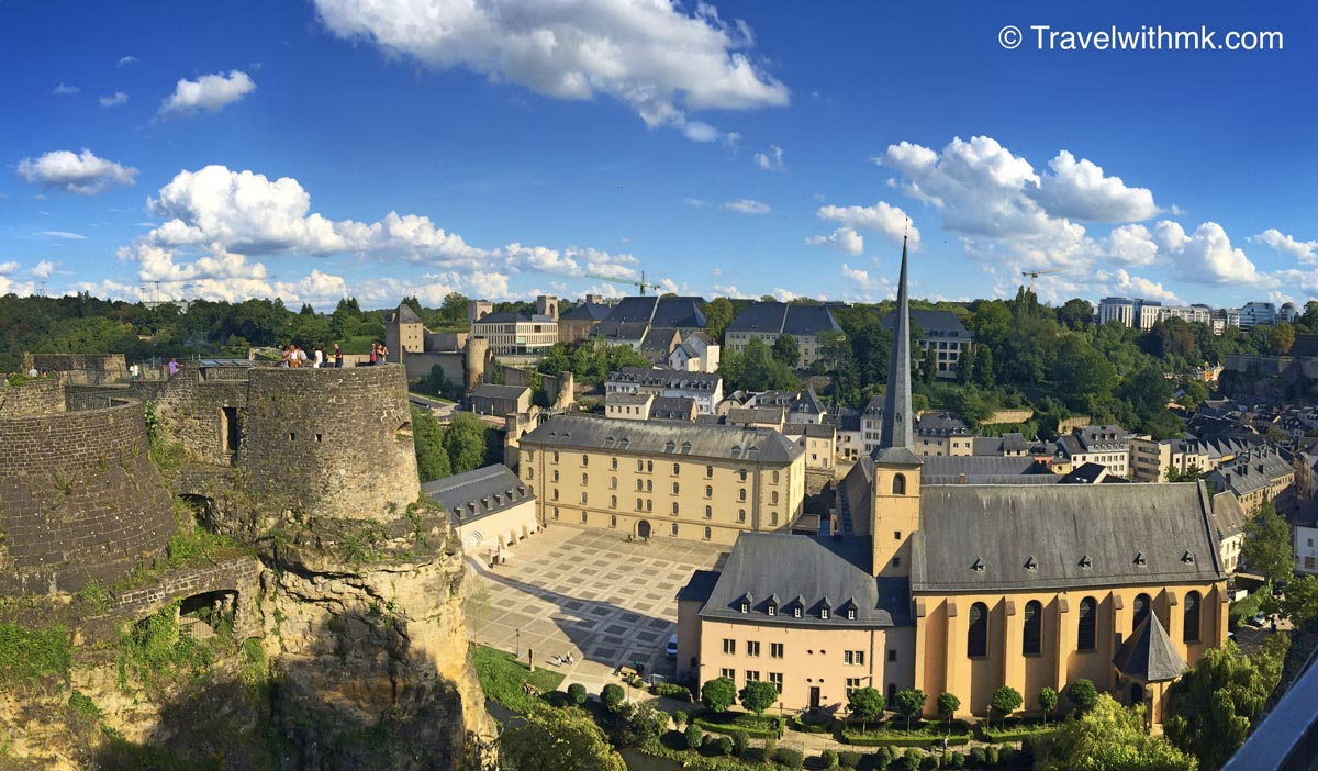 My Luxembourg City - Part II • Travel with Mei and Kerstin