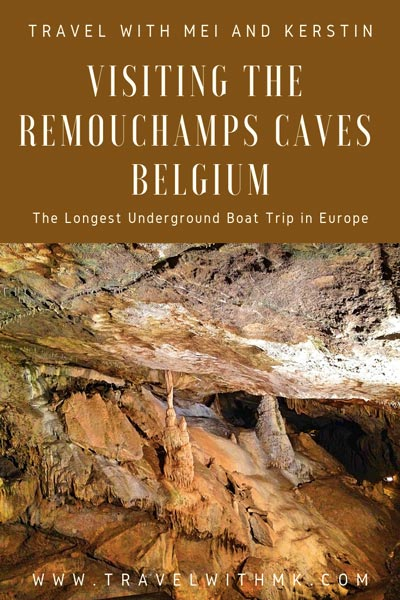 Visiting the Remouchamps Caves in Belgium - the longest underground boat tour in Europe © Travelwithmk.com