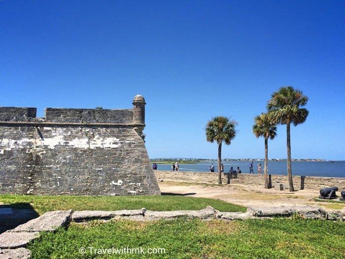 Castillo de San Marcos in St Augustine, Florida © Travelwithmk.com